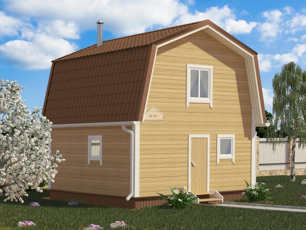 Дом-Баня каркасный 5х5 (КДБ-3)